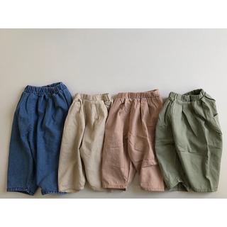 【さらに値下げ】ソフト バルーン パンツ 80 90 100 110 韓国子供服