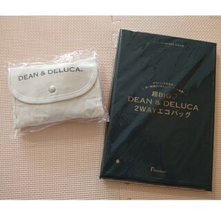 DEAN & DELUCA - DEAN&DELUCA ショッピングバッグ ナチュラル エコバッグ