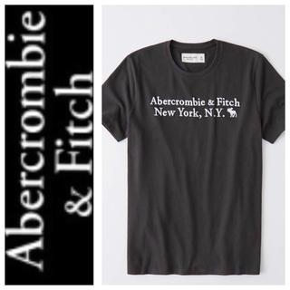 アバクロンビーアンドフィッチ(Abercrombie&Fitch)の◎S◎新品正規品◎アバクロ◎刺繍UネックTシャツ◎送料込(Tシャツ/カットソー(半袖/袖なし))