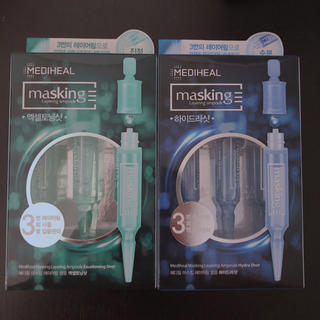 チャアンドパク(CNP)のメディヒール、アンプルショット2種set(美容液)