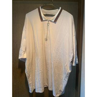 ハレ(HARE)の【kutir】配色ハーフジップポロシャツ(ポロシャツ)