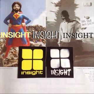 インサイト(INSIGHT)のinsightインサイト US限定 BOXロゴ アイコン ステッカー 2点セット(サーフィン)