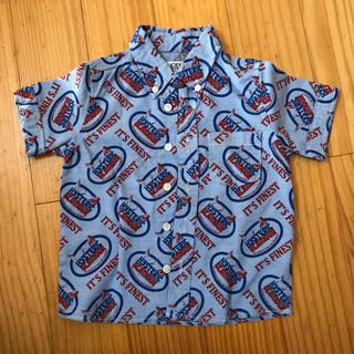 ヒステリックミニ(HYSTERIC MINI)のヒステリックグラマー キッズシャツ(Tシャツ/カットソー(半袖/袖なし))