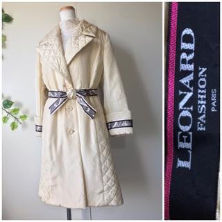 レオナール(LEONARD)の未使用レオナール 最高級 シルク 日本製 コート(ロングコート)