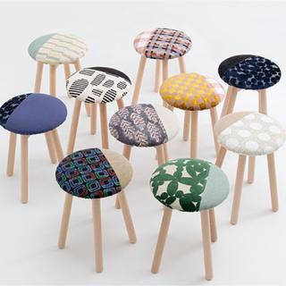 ミナペルホネン(mina perhonen)のミナペルホネン   無印良品 コラボスツール 椅子(スツール)