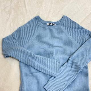 snidel - snidel 薄手knit