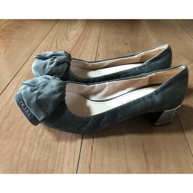 PRADA(プラダ)の🎀プラダ リボンパンプス 37🎀 レディースの靴/シューズ(ハイヒール/パンプス)の商品写真