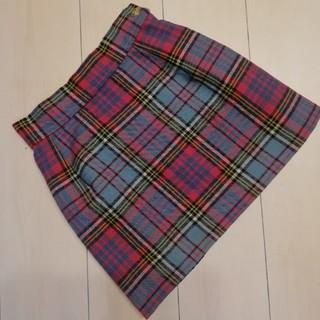 Vivienne Westwood - ブルーマック ロキャロン生地 タータン スカート