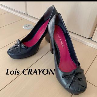 ロイスクレヨン(Lois CRAYON)のLois CRAYON  パンプス リボン(ハイヒール/パンプス)