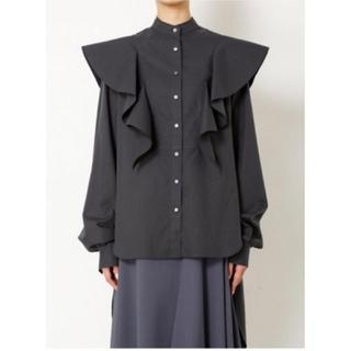 ルシェルブルー(LE CIEL BLEU)のIRENE 🖤 Wing Shirt ウィングシャツ  ブラウス アイレネ(シャツ/ブラウス(長袖/七分))