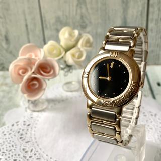サンローラン(Saint Laurent)の【美品】Yves Saint Laurent  腕時計 ブラック メンズ(腕時計(アナログ))