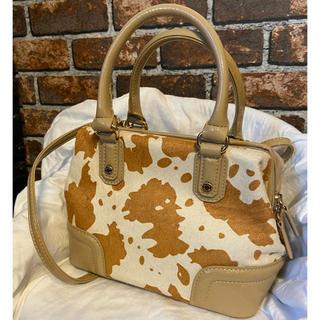 ダイアナ(DIANA)の新品 ダイアナ ハラコ ハンドバッグ ショルダーバッグ フルラ トリーバーチ(ショルダーバッグ)