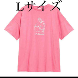 GU - GU ポケモン イーブイ Lサイズ チュニックT(5分袖)POKEMON