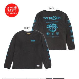 マンウィズアミッション(MAN WITH A MISSION)のMAN WITH A MISSION マンウィズ ロンT XXLサイズ(Tシャツ/カットソー(七分/長袖))