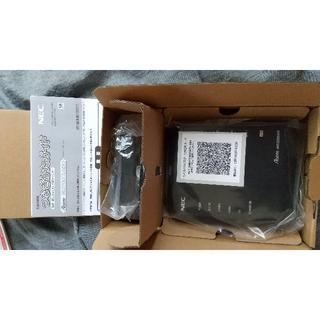 エヌイーシー(NEC)の新品 Aterm PA-WG1200HS4(NE) (その他)