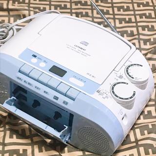 東芝 - TOSHIBA東芝TY-CK2小型ラジカセCDプレーヤーラジオカセットテープ