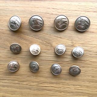 バーバリー(BURBERRY)のバーバリー 金ボタンセット(各種パーツ)