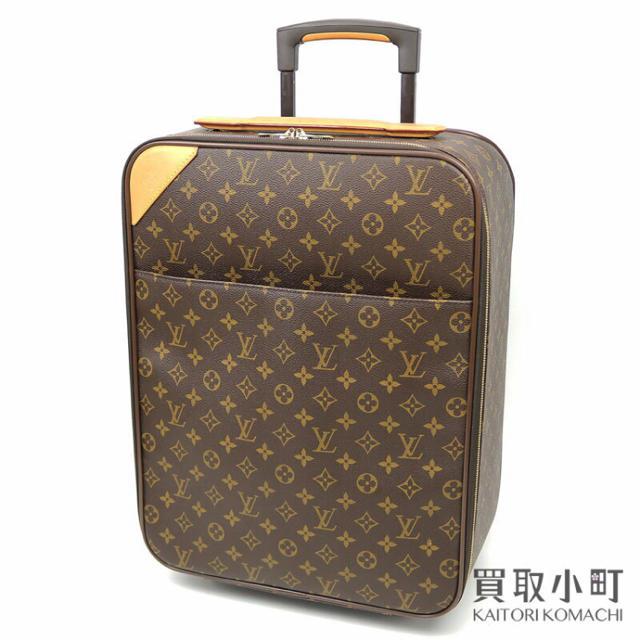 LOUIS VUITTON(ルイヴィトン)のLOUIS VUITTON ペガス50 モノグラム キャリーケース スーツケース レディースのバッグ(スーツケース/キャリーバッグ)の商品写真