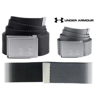 アンダーアーマー(UNDER ARMOUR)のUnder Armour ウェビングベルト2.0 リバーシブルタイプ  ブラック(ベルト)