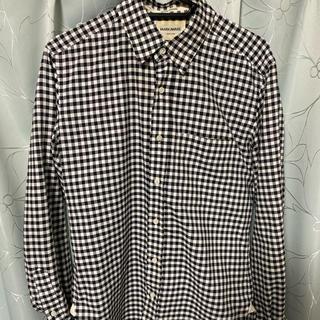 マーカウェア(MARKAWEAR)のマーカウェア MARKAWAREギンガムチェックシャツサイズ1。(シャツ)