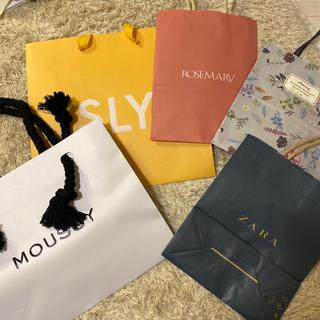 マウジー(moussy)のショッパー(ショップ袋)