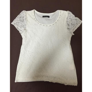ミッシュマッシュ(MISCH MASCH)のMISCHMASCH♡花柄レーストップス(Tシャツ(半袖/袖なし))