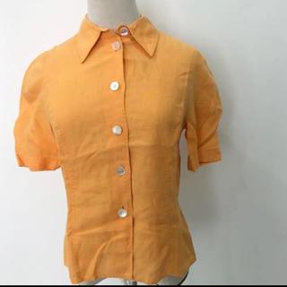 エルメス(Hermes)の希少 エルメス ヴィンテージ 半袖 シャツ(シャツ/ブラウス(半袖/袖なし))