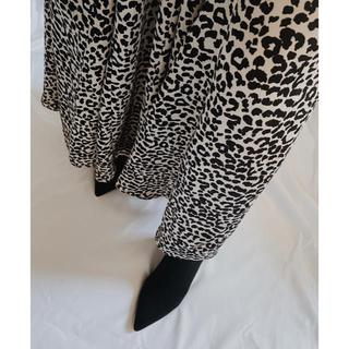 ルームサンマルロクコンテンポラリー(room306 CONTEMPORARY)のroom306contemporary 似 レオパード柄スカート(ロングスカート)