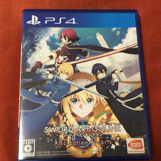 PlayStation4 - ソードアート・オンライン アリシゼーション リコリス PS4 ソフト カセット
