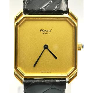 ショパール(Chopard)のCHOPARD ショパール K18YG スクエア 時計(腕時計(アナログ))