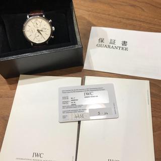 インターナショナルウォッチカンパニー(IWC)のIWC ポートフィノ 時計 美品(腕時計(アナログ))