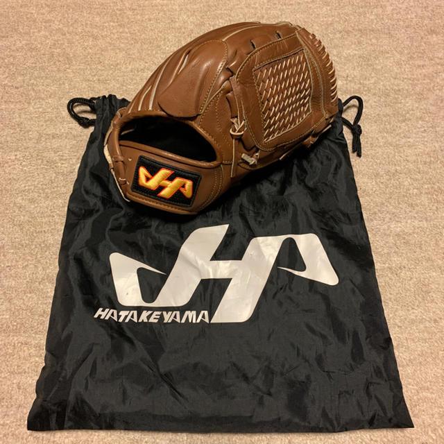 HATAKEYAMA(ハタケヤマ)のハタケヤマ 硬式グラブ 投手用 スポーツ/アウトドアの野球(グローブ)の商品写真