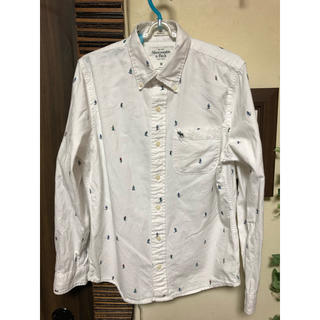 アバクロンビーアンドフィッチ(Abercrombie&Fitch)のAbercrombie & Fitch ボタンダウンシャツ ネルシャツ Mサイズ(シャツ)