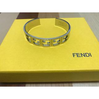 フェンディ(FENDI)のFENDI  フェンディ バングル ブレスレット FF(ブレスレット/バングル)