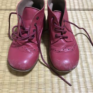キャラメルベビー&チャイルド(Caramel baby&child )のcaramel baby& child  本革ブーツ サイズ25(ブーツ)