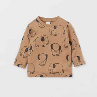 H&M - 新品 H&M baby kids  長袖トップス 長袖Tシャツ Tシャツ