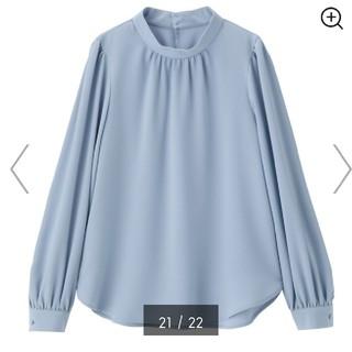 GU - 【GU】スタンドカラーシャツ