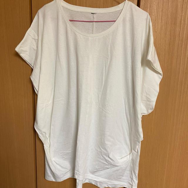 ロングTシャツ レディースのトップス(Tシャツ(半袖/袖なし))の商品写真