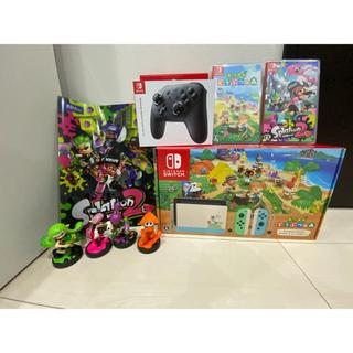 Nintendo Switch - あつまれどうぶつの森switch+ソフト等オマケ多数☆彡
