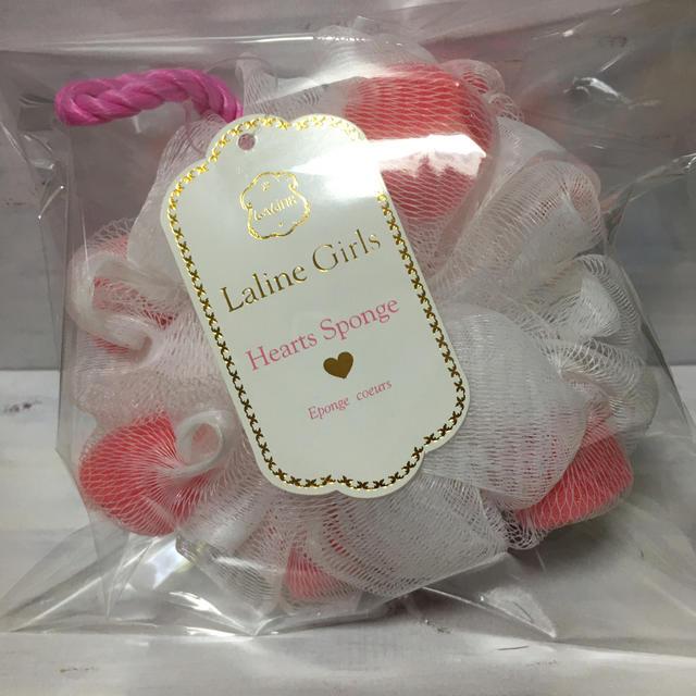 Laline(ラリン)のLaline Girls ハートスポンジ&ハートソープ コスメ/美容のボディケア(ボディソープ/石鹸)の商品写真