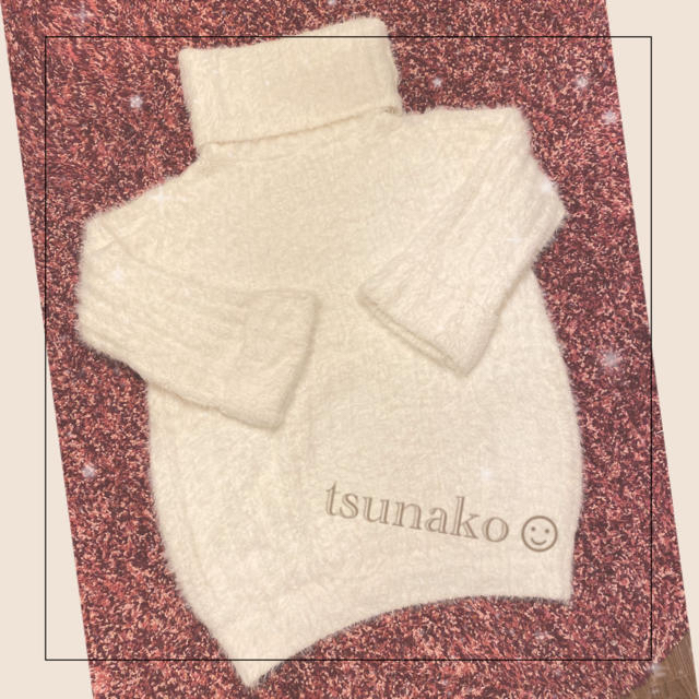 gelato pique(ジェラートピケ)のgelato pique♡フェザーリブハイネックプルオーバー レディースのルームウェア/パジャマ(ルームウェア)の商品写真