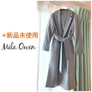 Mila Owen - ミラオーウェン  チェスターコート ベルト付チェスターコート ロングコート