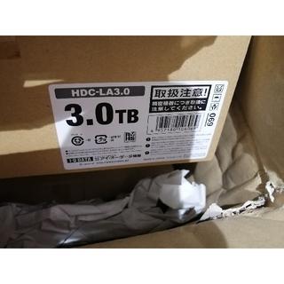 アイオーデータ(IODATA)のyuriyuri様専2台セット未開封 I-ODATA HDC‐LA3.0 3TB(PC周辺機器)