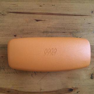 フォーナインズ(999.9)のフォーナインズ メガネケース 999.9 オレンジ  メガネ(サングラス/メガネ)
