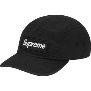 Supreme - Supreme Military Camp Cap Black 黒 シュプリーム