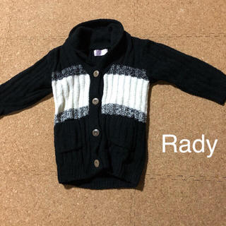 レディー(Rady)のS《ちびRady》レディー キッズ ベビー ジャケット コート アウター ニット(ジャケット/上着)