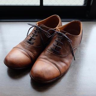 アーバンリサーチ(URBAN RESEARCH)のSPACE CRAFT ヌメ革レースアップシューズ(ローファー/革靴)