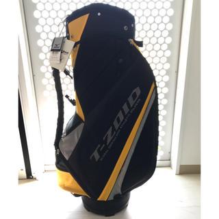 ミズノ(MIZUNO)のゴルフバッグ ミズノ 新品未使用 t-zoid イエロー ブラック(バッグ)