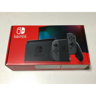 Nintendo Switch - Nintendo Switch スイッチ グレー 本体 新品未開封