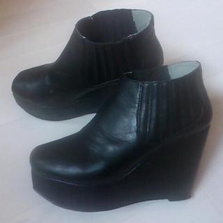 ローリーズファーム(LOWRYS FARM)の大幅値下げ25.5cm サイドゴアブーツ(ブーツ)